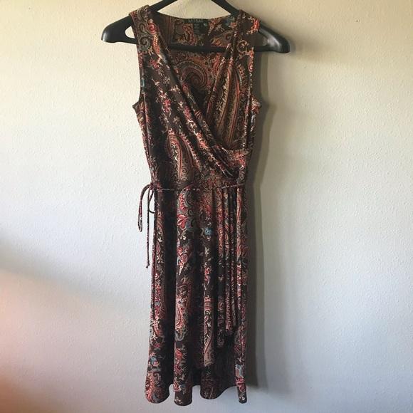 Lauren Ralph Lauren Dresses & Skirts - Ralph Lauren Paisley Dress